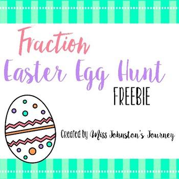 FREEBIE Fraction Easter Egg Hunt