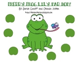 FREEBIE!  Freddy Frog Lily Pad Hop Game