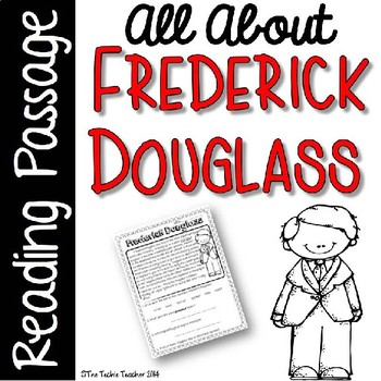 Frederick Douglass Reading Passage