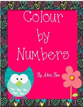 FREEBIE Free Colour by Numbers