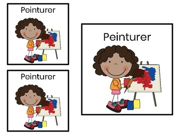 FREEBIE- French Classroom Labels