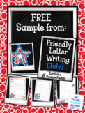 FREEBIE Fourth of July Friendly Letter Writing ~ Templates