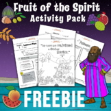 FREEBIE Fruit of the Spirit activity pack