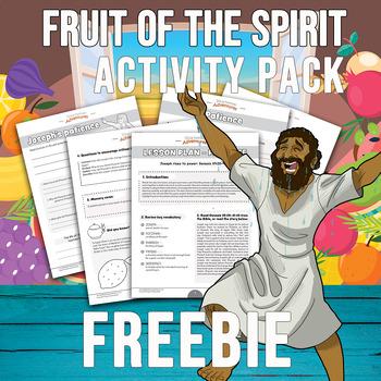 FREEBIE Fruit of the Spirit activity pack