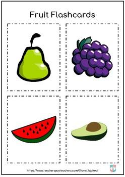 FREEBIE - Fruits Activity Pack - Color