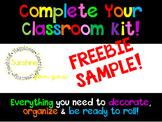 FREEBIE! Gradebook, Newsletter Template, Lessons Plan Book!