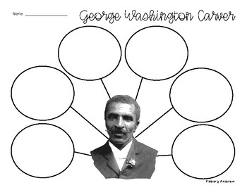 FREEBIE: George Washington Carver Graphic Organizer