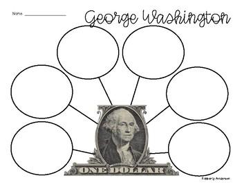 FREEBIE: George Washington Graphic Organizer