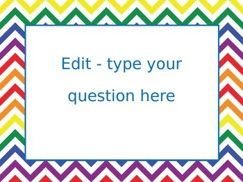 FREEBIE Editable Getting to Know the Teacher PPT, Back to School