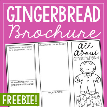 FREEBIE Gingerbread Research Project - History of Christmas Activity