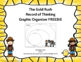 {FREEBIE} Gold Rush Graphic Organizer