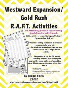 {FREEBIE} Gold Rush R.A.F.T.