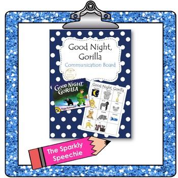 FREEBIE: Good Night, Gorilla Low Tech AAC / Communication Board