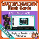FREEBIE Google Slides Digital Multiplication Flash Cards D