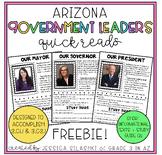 FREEBIE Government Leaders: mayor, governor, and president (Arizona edition)
