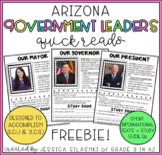 FREEBIE: Government Leaders: mayor, governor, and president (Arizona edition)