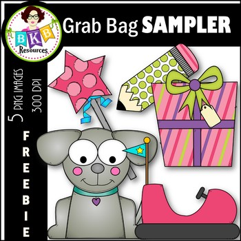 FREEBIE ● Grab Bag Sampler ● Clip Art ● For Commercial Use