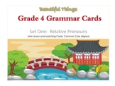 FREEBIE - Grade 4 Grammar Mini Lesson and Matching Cards,