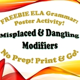 FREEBIE Grammar: Dangling & Misplaced Modifiers Illustration Assignment