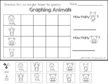 FREEBIE - Graphing Animals Worksheet