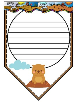 FREEBIE: Groundhog Day Papers / Banner / Pennant