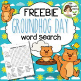 FREEBIE - Groundhog Day Word Search (includes answer key)