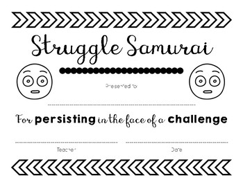 FREEBIE! Growth Mindset Awards & Recognitions