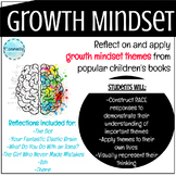 Growth Mindset Book Reflections and Activities