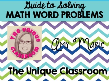 FREEBIE Guide to Solving Math Word Problems