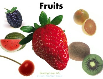 Guided Reading FRUITS
