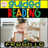 FREEBIE Guided Reading | Word Work | Comprehension