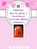 FREEBIE HOW TO MAKE A FUNCTIONAL CONCRETE OBJECT SCHEDULE