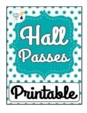 FREEBIE! Hall Pass Template - Editable in Google Docs & Drawings!