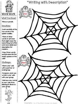 FREEBIE Halloween NO PREP Reading, Writing, Language Activities {Grades 2-6}