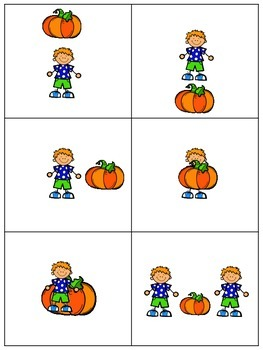 FREEBIE: Halloween Spatial Prepositions