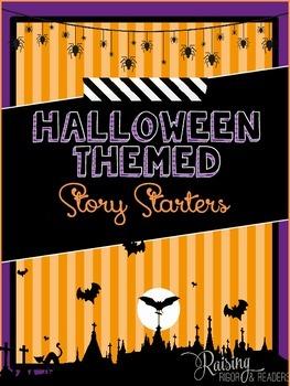 FREEBIE: Halloween Story Starters