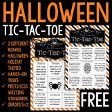 Halloween Tic-Tac-Toe for Grades 5-12