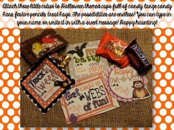 {FREEBIE} Halloween Treat Tags