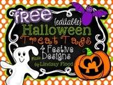 {FREEBIE} Halloween Treat Tags