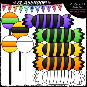 FREEBIE Halloween Treats Clip Art - Halloween Clip Art