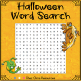 FREEBIE - Halloween Word Search