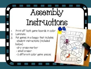 FREEBIE! Handwriting Games