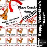 FREEBIE - Happy Valentine's Deer