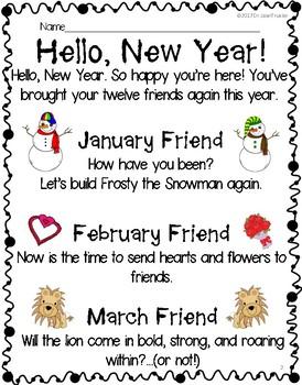 FREEBIE: Hello, New Year