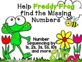 FREEBIE: Help Freddy Frog find the Missing Numbers – Numbe