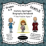 FREEBIE - Historical Figures Notebooking Pages - Middle Ages - Joan of Arc