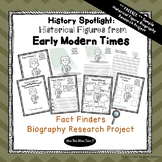 FREEBIE - History Biography Research Report Project | Thomas Jefferson
