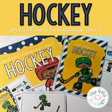 FREEBIE - Hockey Preschool Language Unit