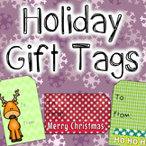 FREEBIE Holiday Gift Tags