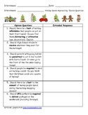 FREEBIE  Holiday Interview 'Should' Questions for Middle & High School Students
